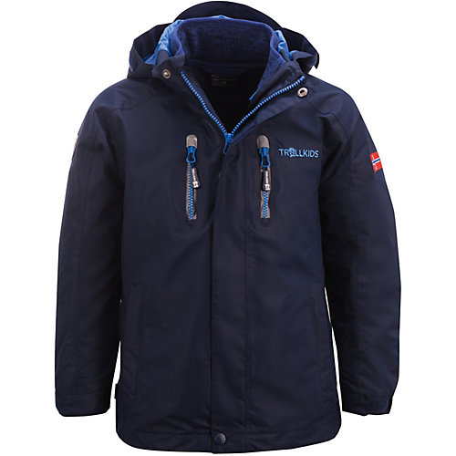 Trollkids Kinder 3in1 Outdoorjacke LOFOTEN Gr. 104 | 04260400529952