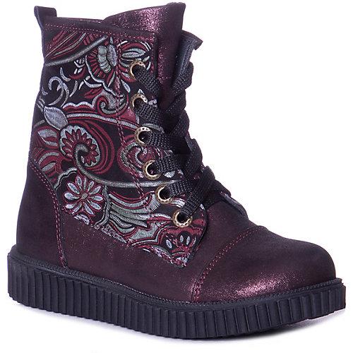 Ботинки Minimen - бордовый от Minimen