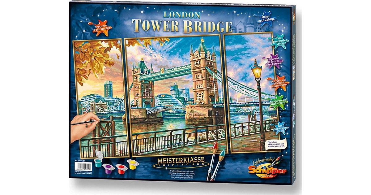 SCHIPPER · Malen nach Zahlen - The Tower Bridge in London