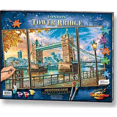 Malen Nach Zahlen The Tower Bridge In London Schipper