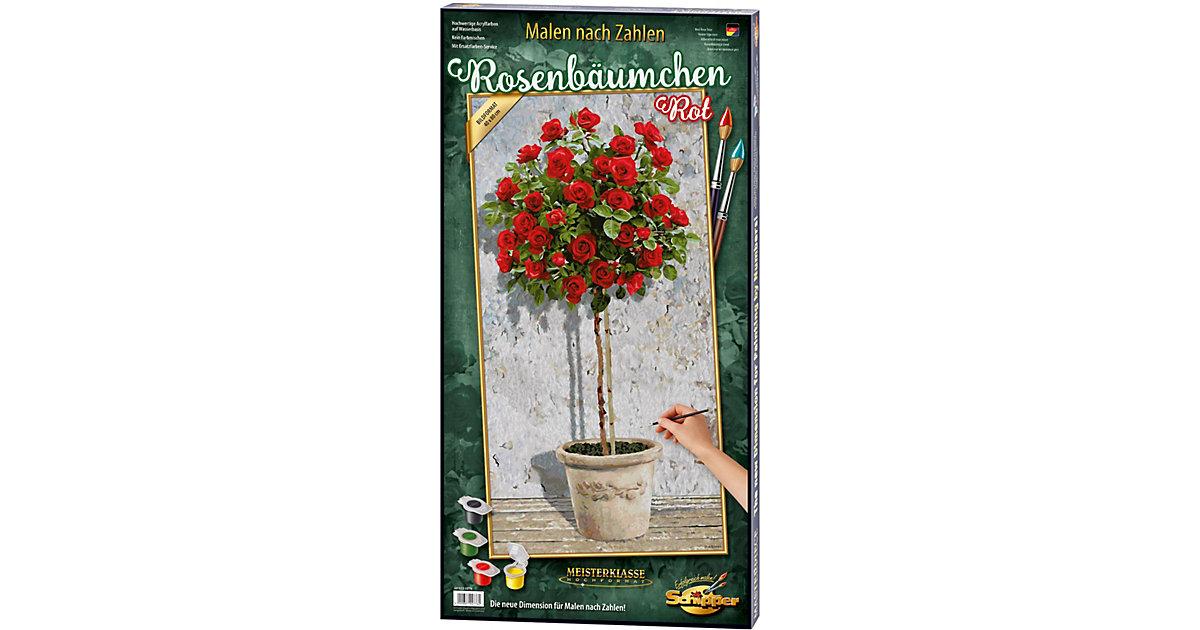 SCHIPPER · Malen nach Zahlen - Rosenbäumchen Rot