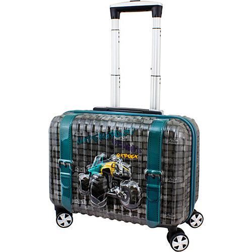 """Дорожный набор:  Чемодан и рюкзак DeLune """"Truck"""" - серый от DeLune"""