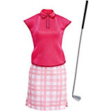 """Одежда для куклы Barbie """"Кем быть?"""" Игрок в гольф"""