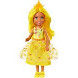 "Мини-кукла Barbie ""Dreamtopia"" Принцесса Челси с жёлтыми волосами, 14 см"
