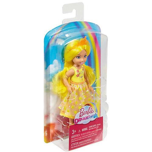 "Мини-кукла Barbie ""Dreamtopia"" Принцесса Челси с жёлтыми волосами, 14 см от Mattel"