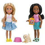 Набор кукол Barbie Челси с питомцем