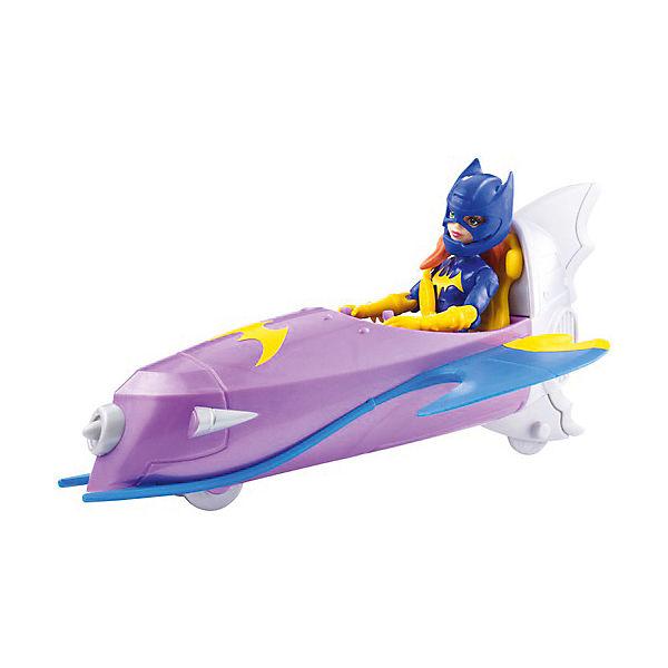 Набор с фигуркой DC Super Hero Girls Бэтгёрл с мотоциклом, 15 см
