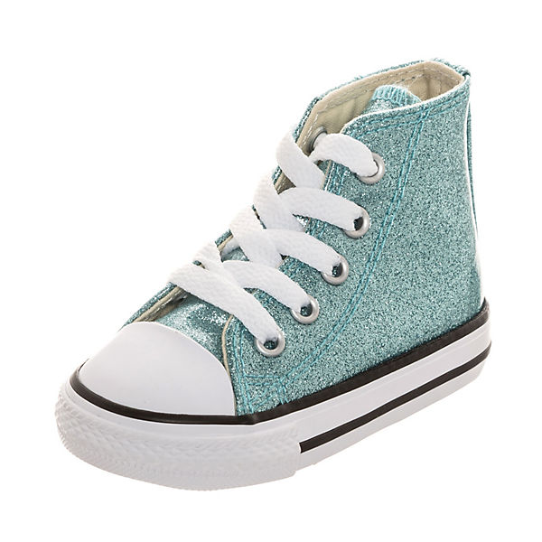 df2f44a407984f Baby Chuck Taylor All Star Glitter Kinder Sneakers High. CONVERSE
