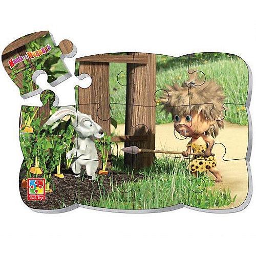 """Магнитные пазлы Vladi Toys """"Маша и Медведь"""" Первобытная Маша от Vladi Toys"""