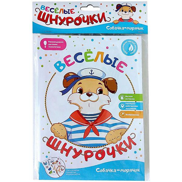 Развивающая игра Malamalama Весёлые шнурочки Собачка-морячок