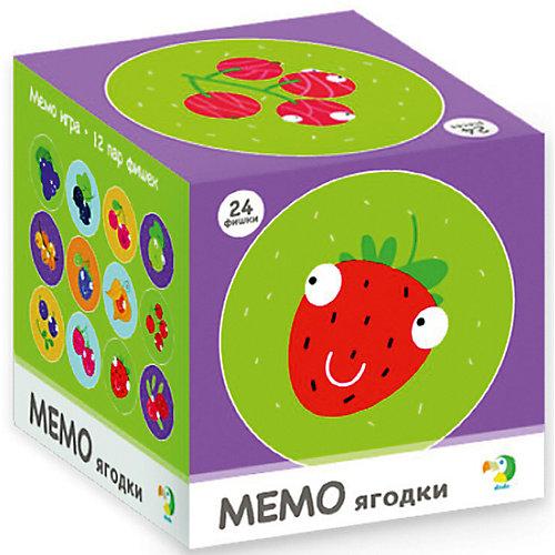 """Настольная игра-мемо Dodo """"Ягодки"""", 24 фишки от Dodo"""