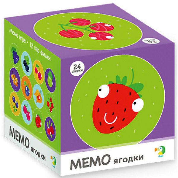 """Настольная игра-мемо Dodo """"Ягодки"""", 24 фишки"""