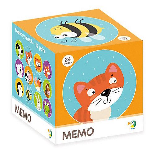"""Настольная игра-мемо Dodo """"Животные"""", 24 фишки от Dodo"""