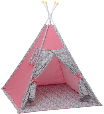 """Палатка-вигвам детская Polini kids Disney """"Последний богатырь"""", принцесса розовый"""