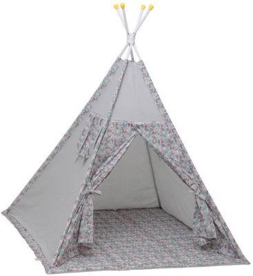 """Палатка-вигвам детская Polini kids Disney """"Последний богатырь"""", принцесса серый"""