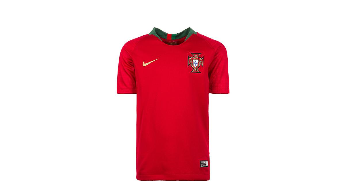 NIKE · Kinder Trikot Portugal Stadium Home WM 2018 Gr. 158/170