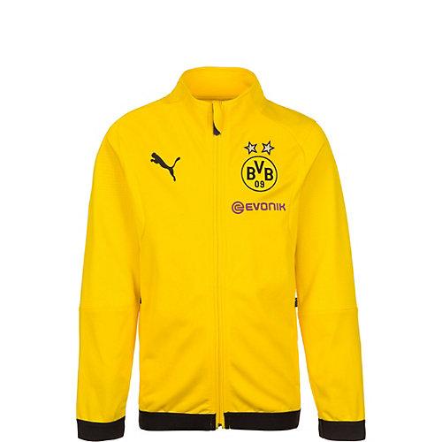 PUMA Kinder Trainingsjacke Borussia Dortmund Gr. 176 | 04059507036476