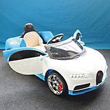 Детский электромобиль Hebei Coupe, бело-голубой