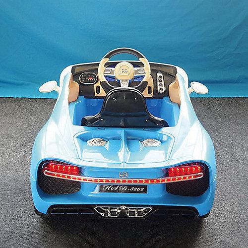 Детский электромобиль Hebei Coupe, бело-голубой от Hebei