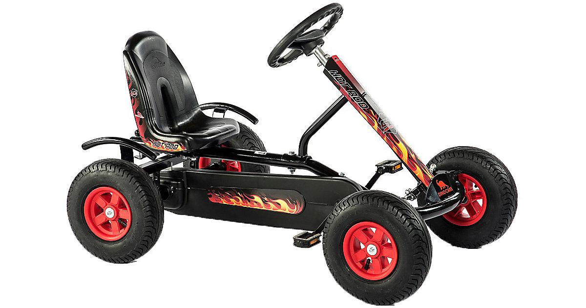 Go-Kart Junior Hot Rod BF1, schwarz-rot schwarz/rot