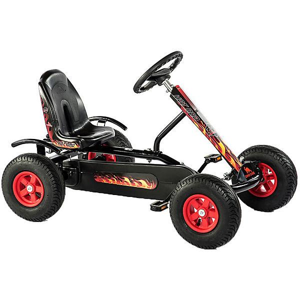 Go-Kart Junior Hot Rod BF1, schwarz-rot, Dino Cars