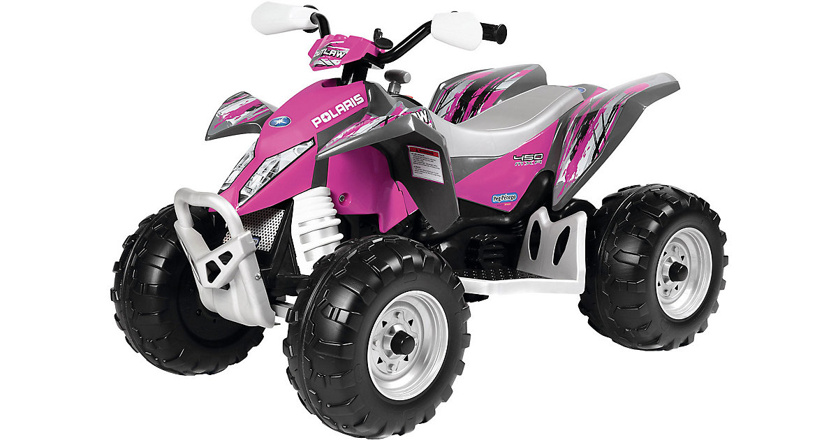 Peg Pérego · Peg-Pérego - Quad Polaris Outlaw Pink Power 12V