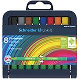 Набор капиллярных фломастеров Schneider Link-It, 8 цветов