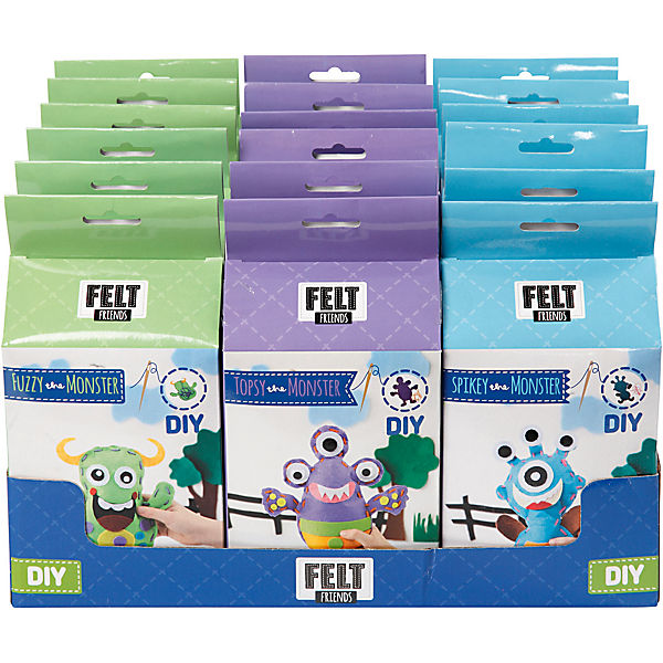 Silk Clay Funny Friends - Sortiment, 18 Sets,