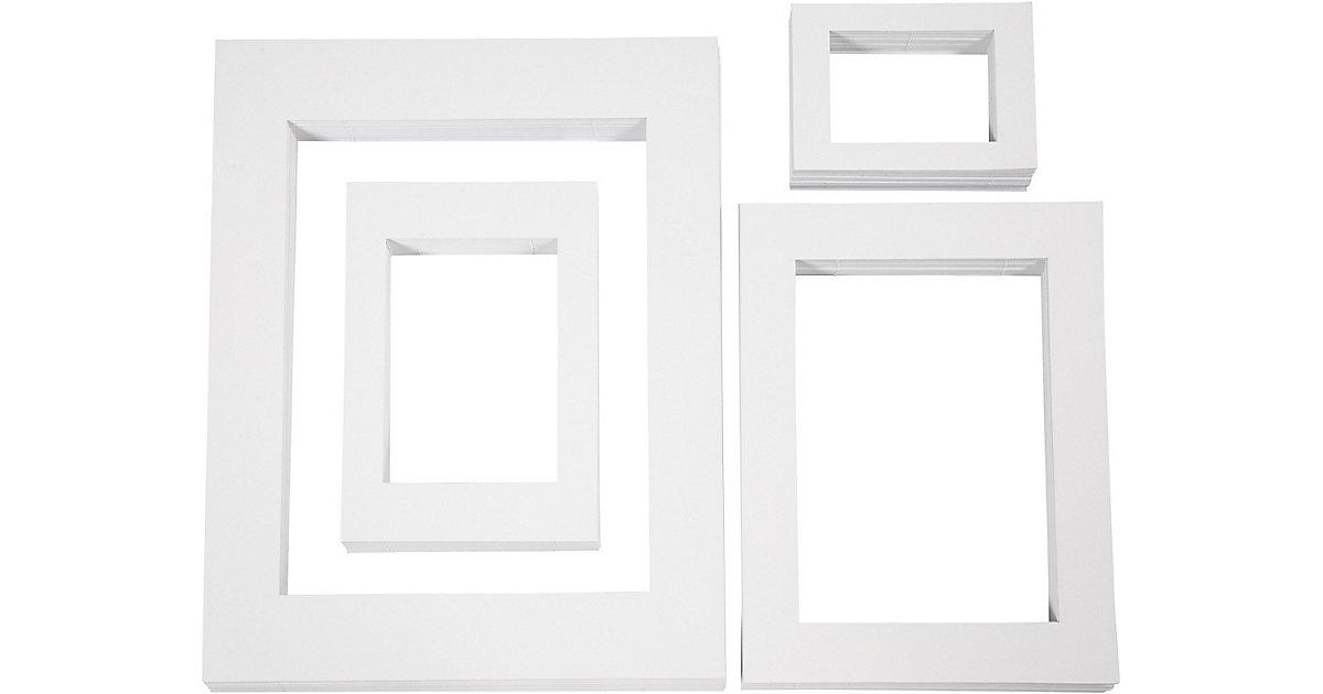Passepartout-Rahmen in 4 Größen, 400 Stück