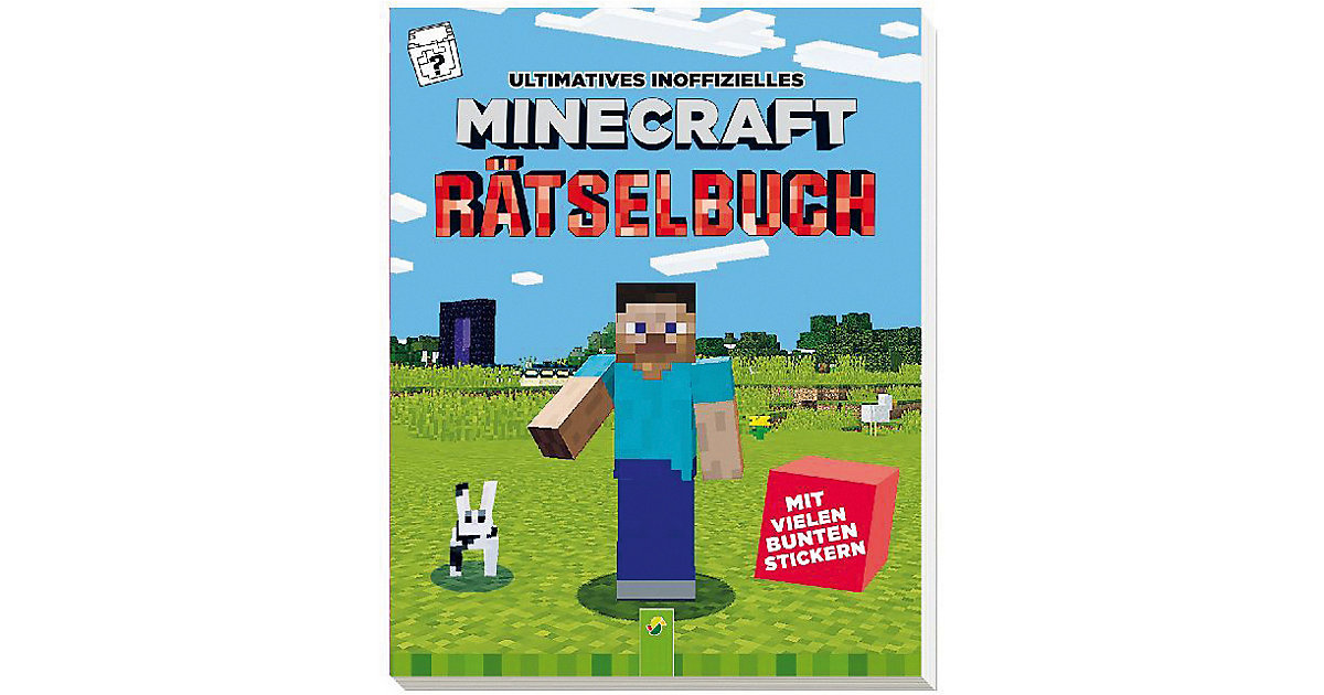 Ultimatives inoffizielles Minecraft Rätselbuch