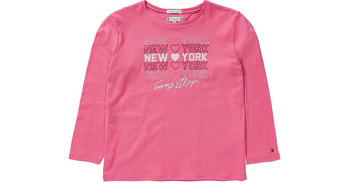 Tommy Hilfiger · Langarmshirt , Organic Cotton Gr. 116 Mädchen Kinder