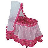 "Кроватка для кукол Buggy Boom ""Loona"", розовая"