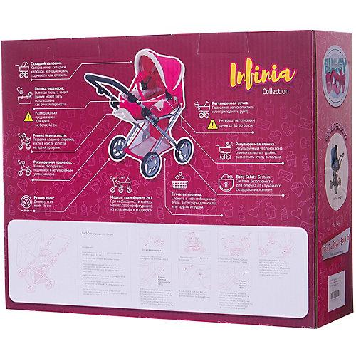 Коляска для кукол Buggy Boom Infinia трансформер, синяя от Buggy Boom