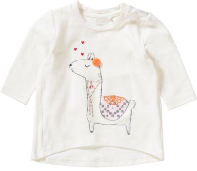 WEIß Baby Langarm Shirt NAME IT Pullover Jungen Oberteil Pulli Farbwahl BLAU o