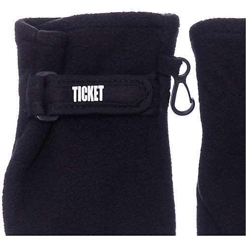 Варежки Ticket To Heaven - черный от TICKET TO HEAVEN