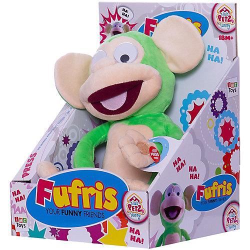 """Интерактивная игрушка IMC Toys """"Обезьянка Fufris"""", зеленая от IMC Toys"""