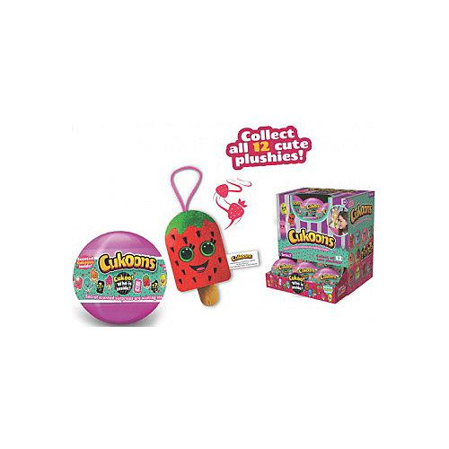 """Мягкая игрушка ABtoys Cukoons """"Десерты"""" в шарах, 7 см от ABtoys"""