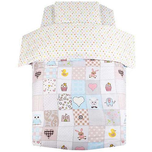 Детское постельное белье Ifratti Мозаика, 3 предмета - разноцветный от Ifratti