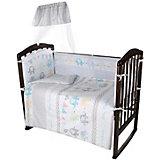 Комплект в кроватку Ifratti Baby Elephants, 7 предметов