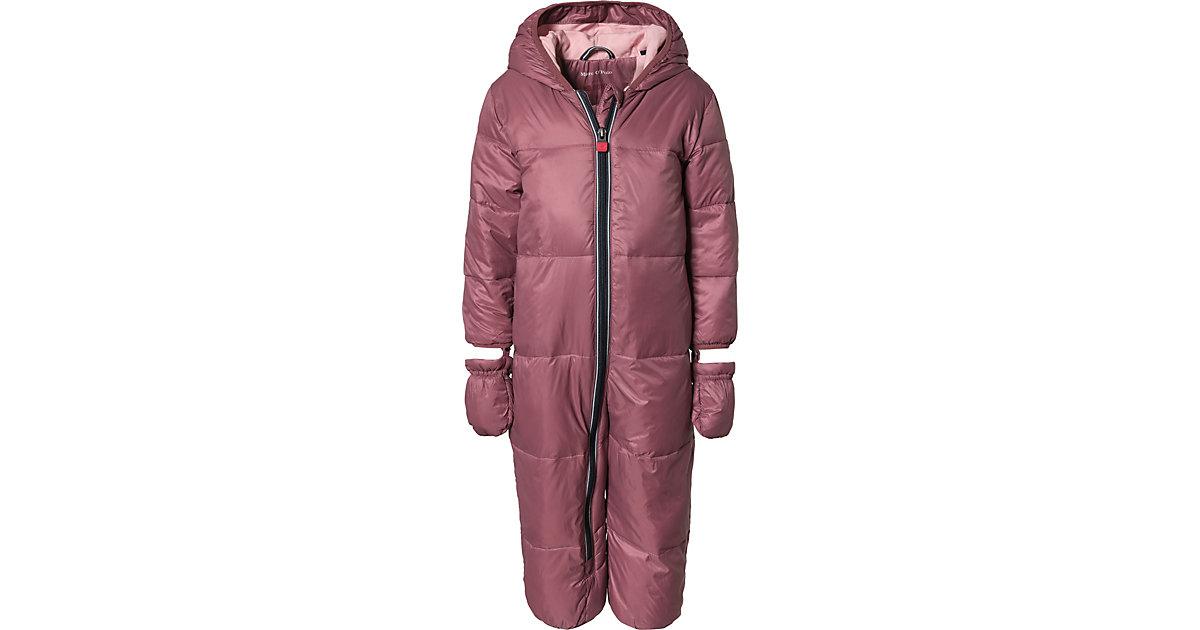 Marc O'Polo · Schneeanzug mit Kapuze, abnehmbar Gr. 80 Mädchen Baby
