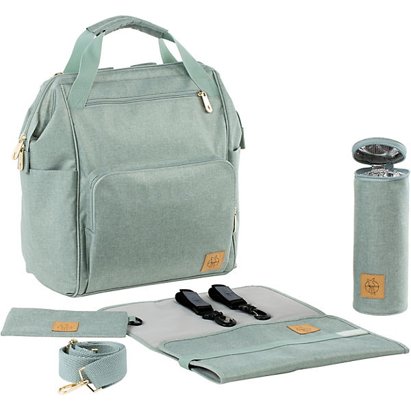 Wickelrucksack Glam Goldie, Backpack, mint