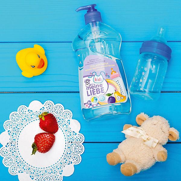 Гель Meine Liebe для мытья овощей, фруктов, детской посуды и игрушек, концентрат 485 мл.