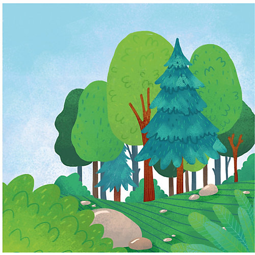 """Удивительный мир """"Кто прячется в лесу?"""", О. Уткина от Clever"""