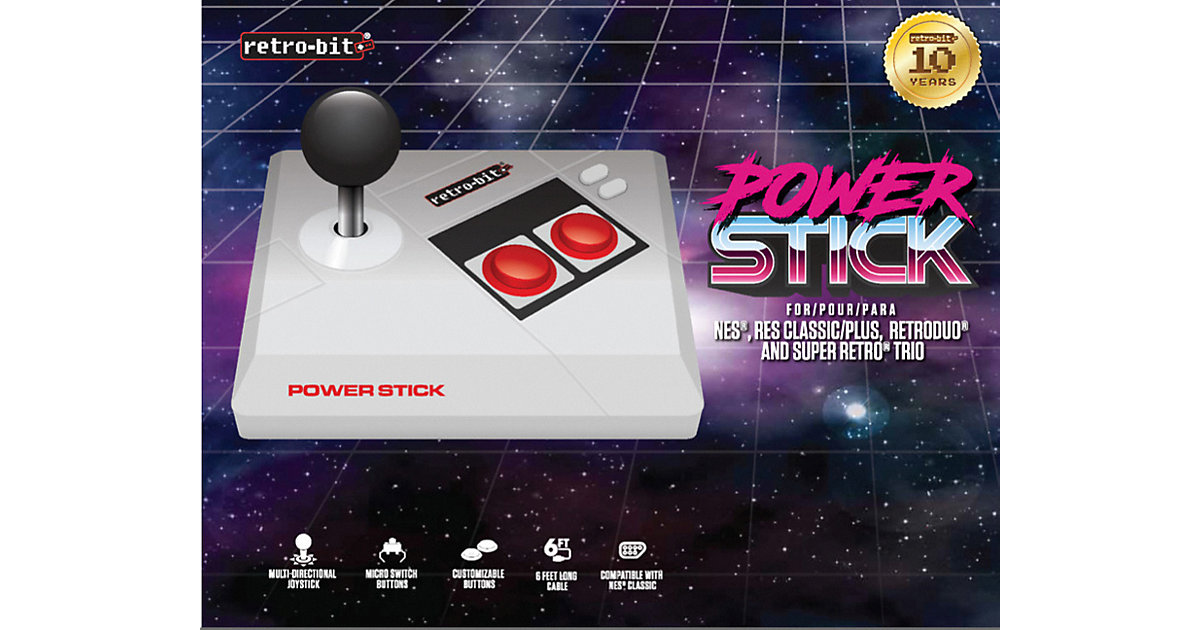 NES Power Stick Controller