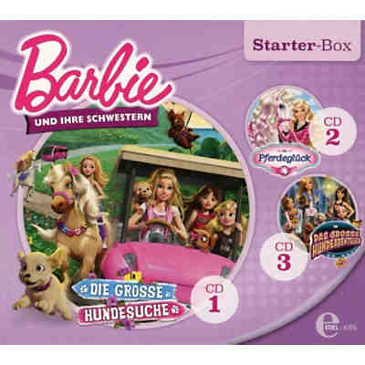 CD Barbie - Starter-Box Schwestern (3 CDs)
