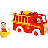 """Игровой набор Brio """"Мой родной дом"""" Пожарные"""