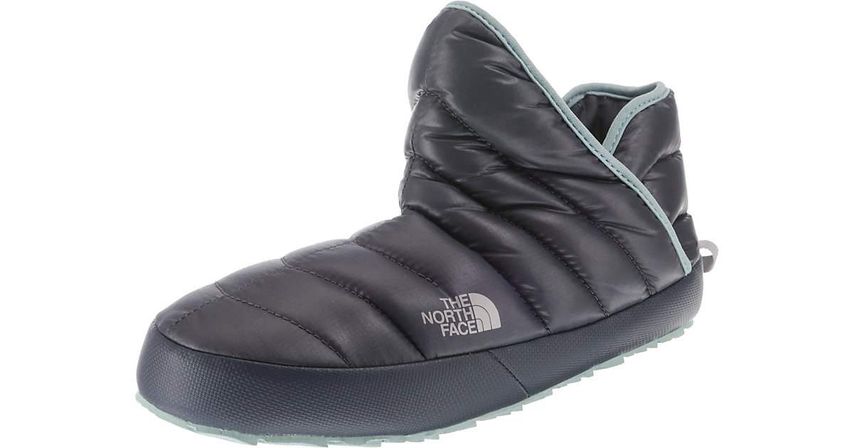 Women's ThermoBall™ Traction Bootie Hüttenschuhe grau Gr. 42 | Schuhe > Hausschuhe > Hüttenschuhe | Grau | Textil | THE NORTH FACE