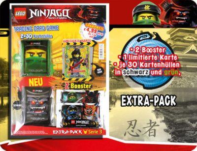 LEGO Ninjago Serie 3 Trading Card Game Extra-Pack inkl LE23  NEU /& OVP