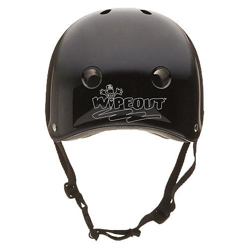 Защитный шлем Wipeout Black с фломастерами - черный от Wipeout