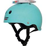 Защитный шлем Wipeout Teal Blue с фломастерами